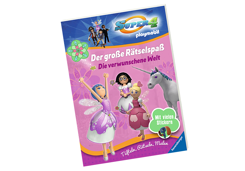 http://media.playmobil.com/i/playmobil/80473_product_detail/Super 4: Der große Rätselspaß - Die verwunschene Welt