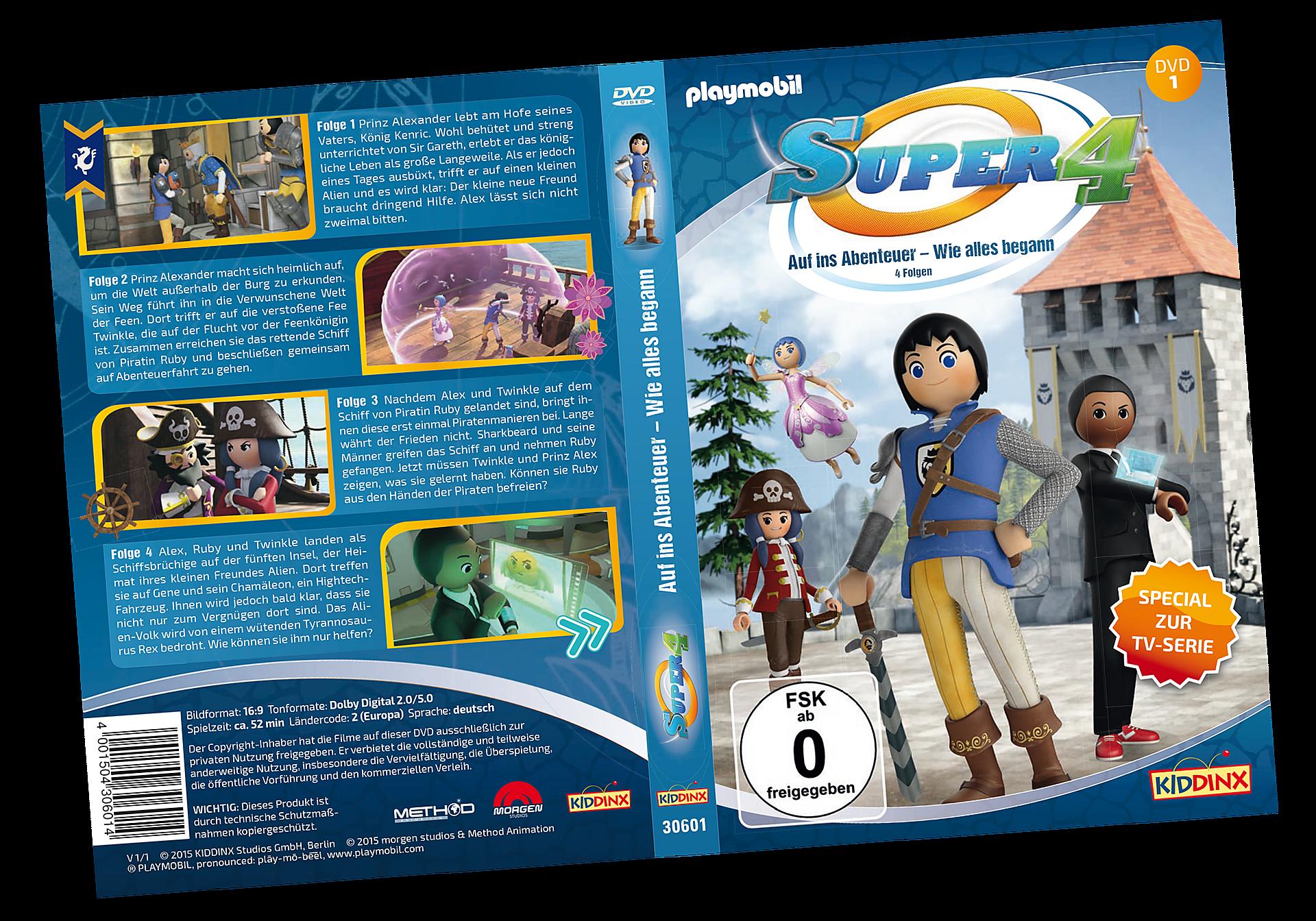 80476 DVD 1 Super4: Auf ins Abenteuer - Wie alles begann zoom image1