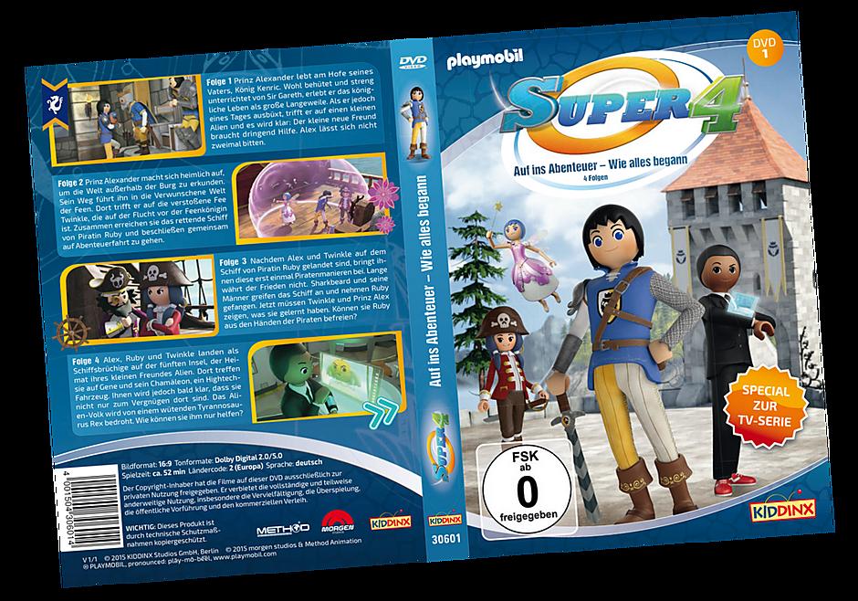80476 DVD 1 Super4: Auf ins Abenteuer - Wie alles begann detail image 1