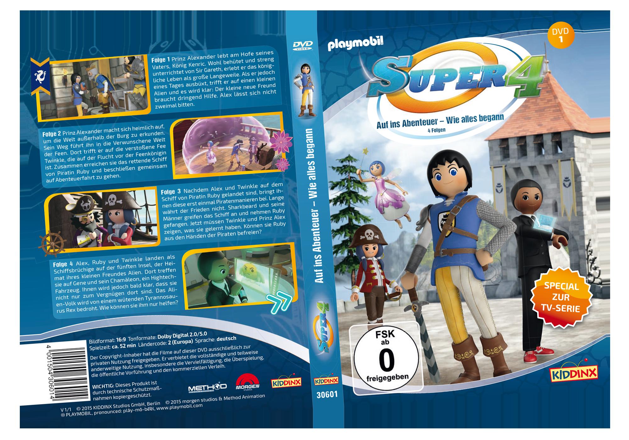 http://media.playmobil.com/i/playmobil/80476_product_detail/DVD 1 Super4: Auf ins Abenteuer - Wie alles begann