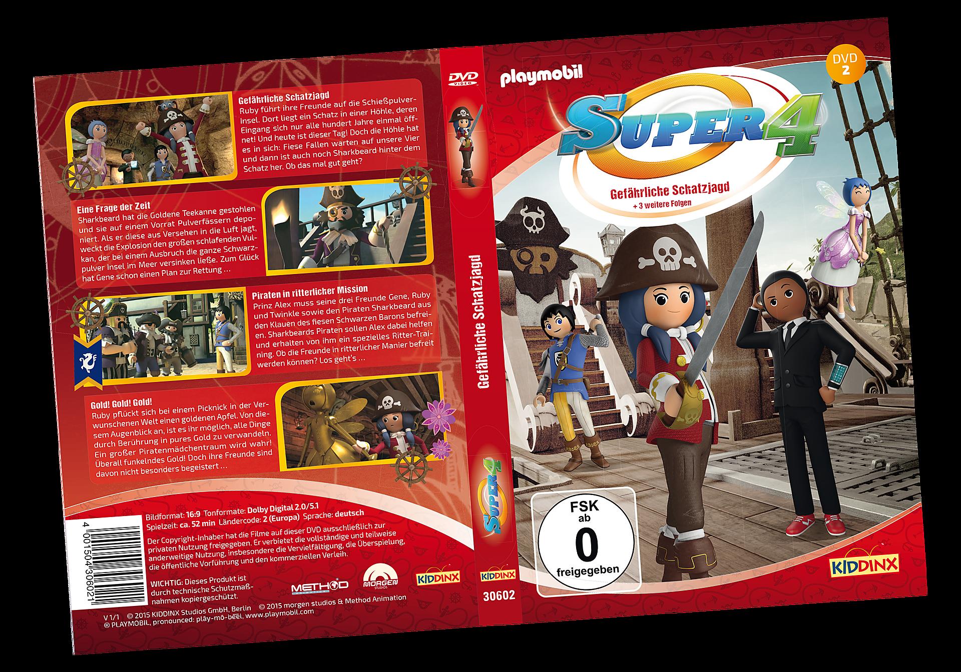 80477 DVD 2 Super4: Gefährliche Schatzjagd zoom image1