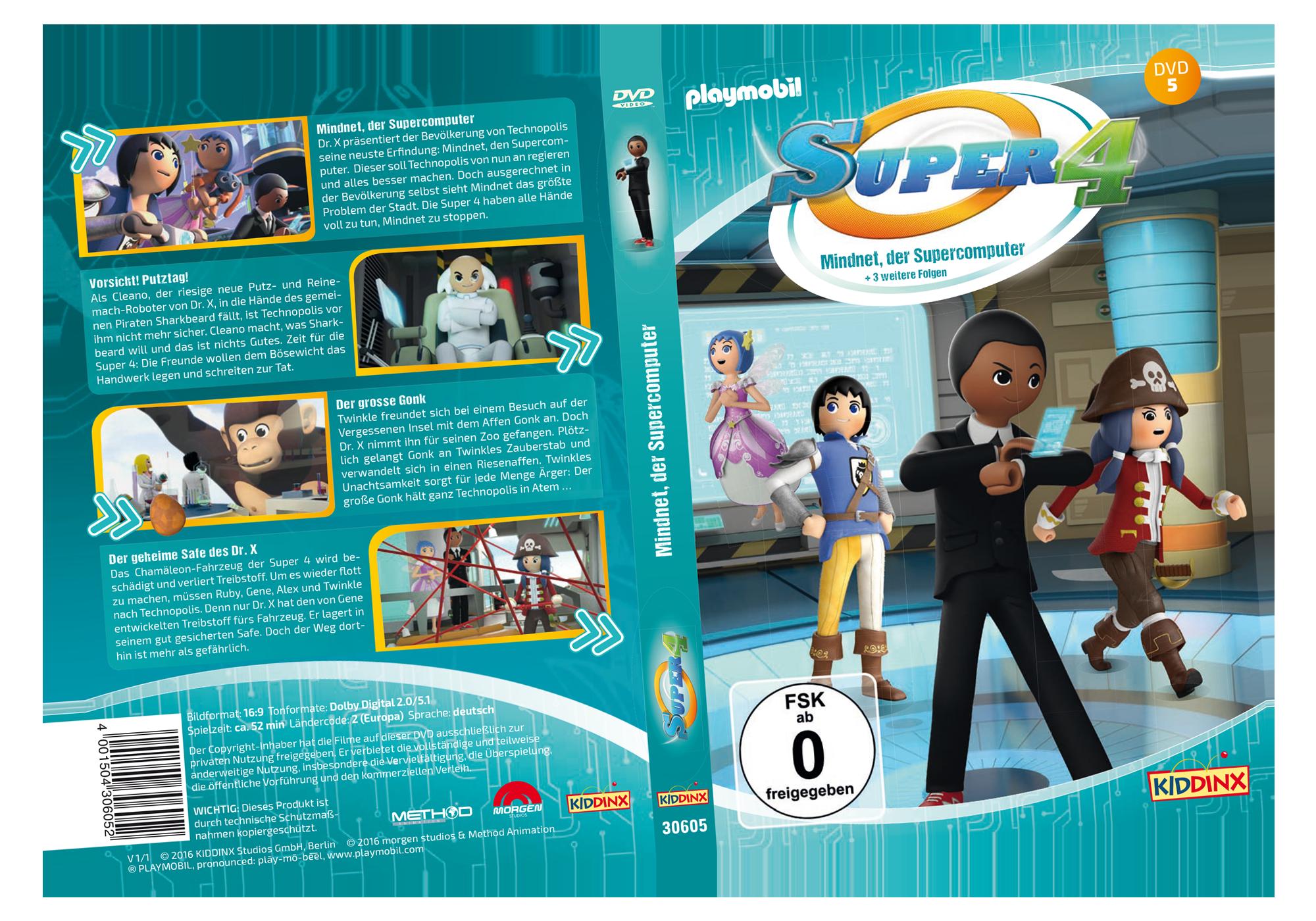 http://media.playmobil.com/i/playmobil/80480_product_detail/DVD 5 Super4: Mindnet,der Supercomputer