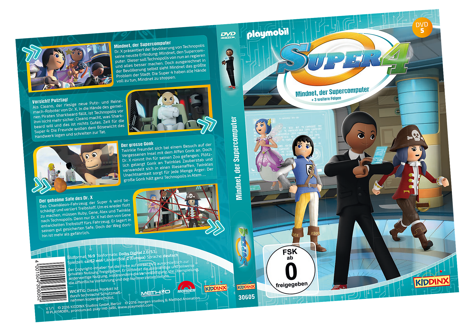 http://media.playmobil.com/i/playmobil/80480_product_detail/DVD 5 Super4: Mindnet,der Supercomputer