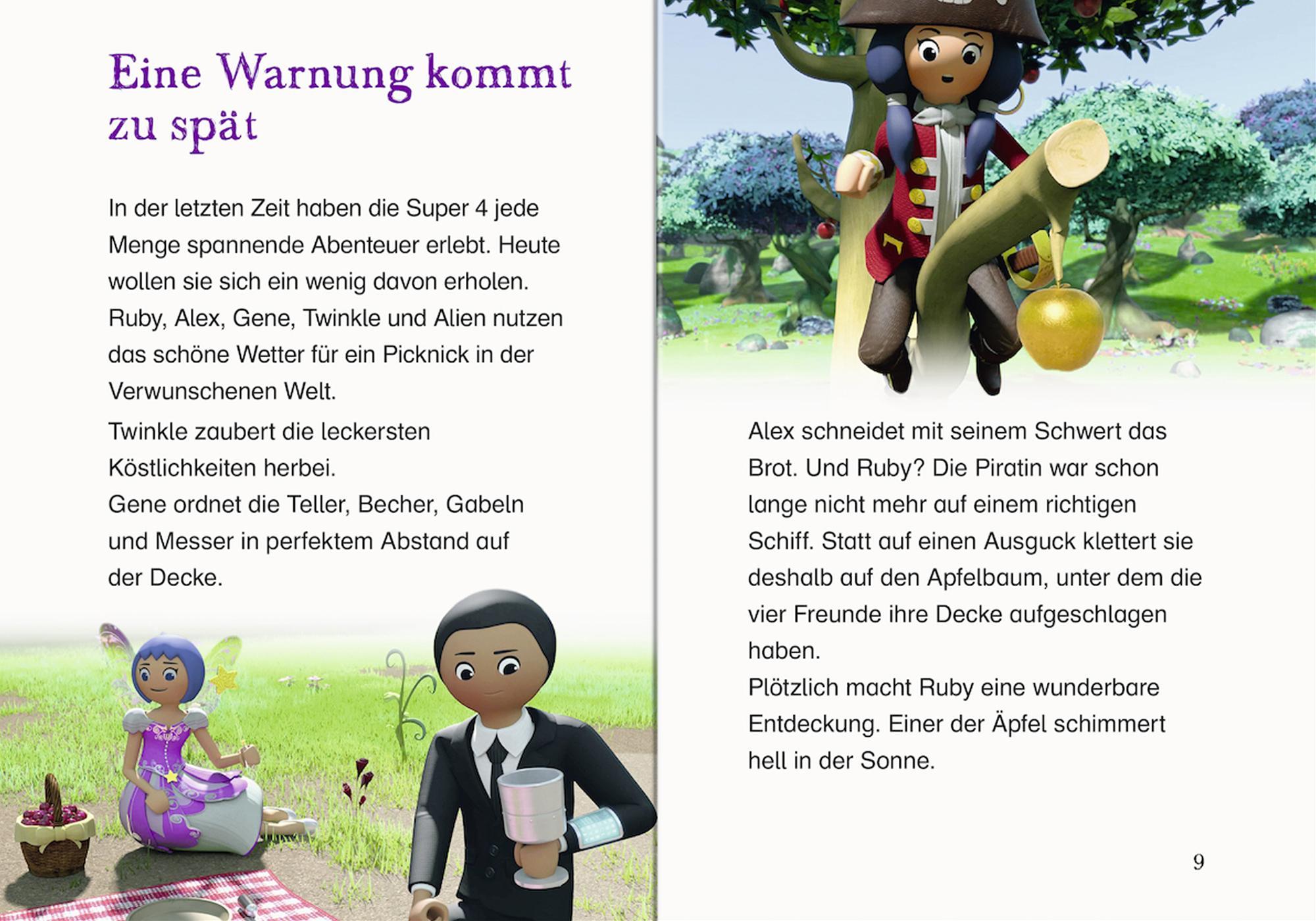 http://media.playmobil.com/i/playmobil/80485_product_extra1/Super 4: Erstleser - Die Königin der Piraten