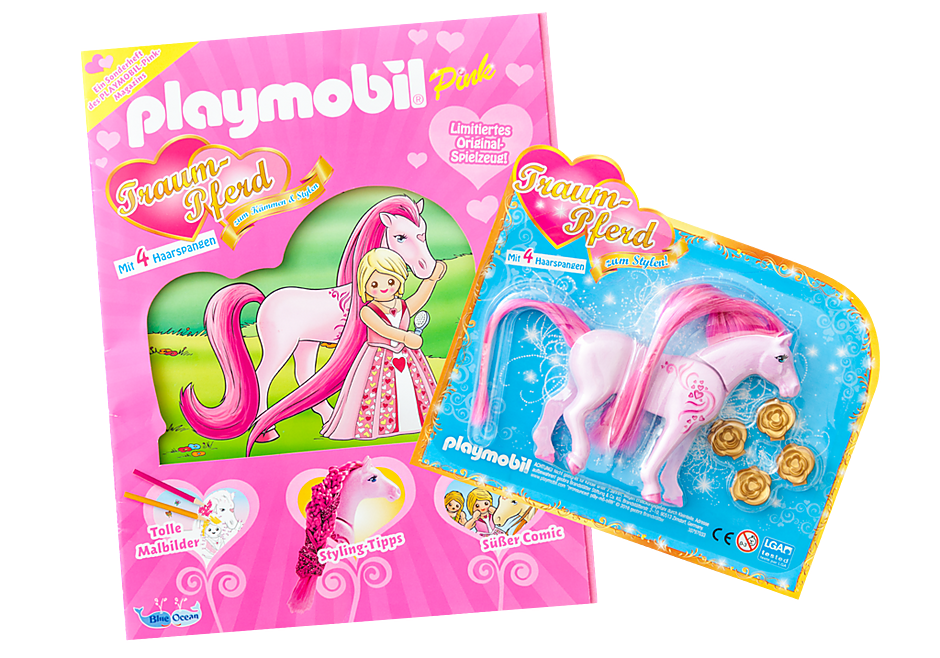 80576 PLAYMOBIL-Magazin Pink Sonderheft 2016 detail image 1