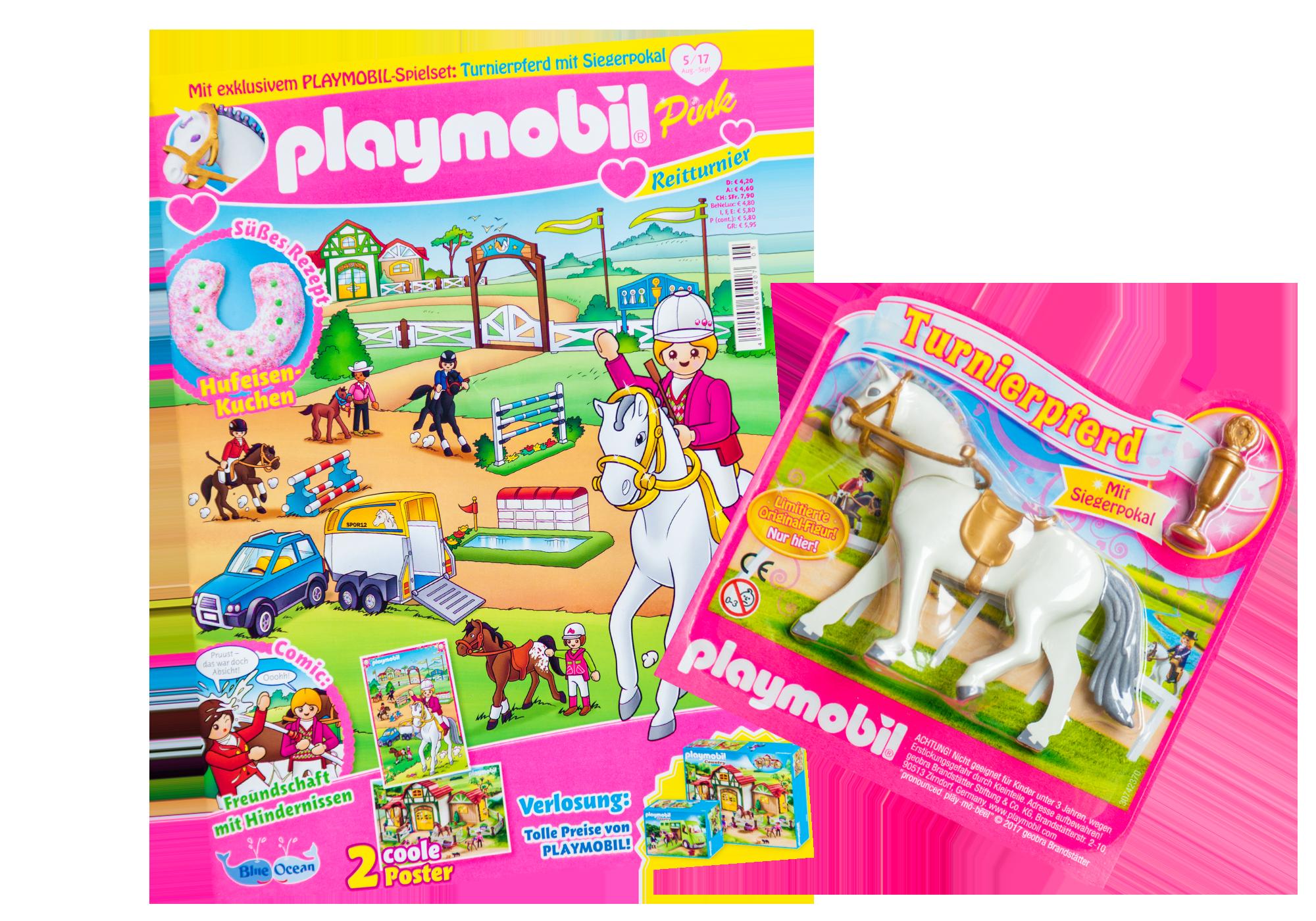 http://media.playmobil.com/i/playmobil/80594_product_detail/PLAYMOBIL-Magazin Pink 5/2017 (Heft 30)