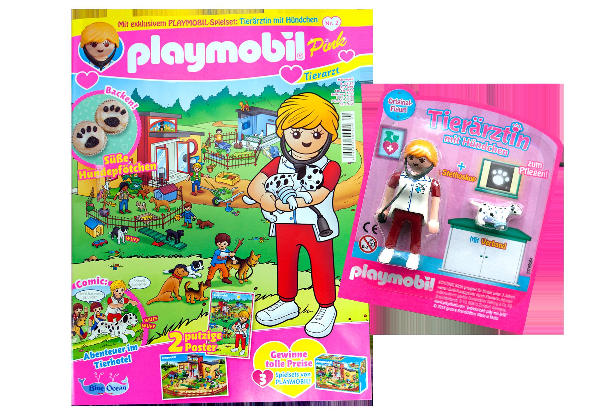 http://media.playmobil.com/i/playmobil/80603_product_detail/PLAYMOBIL-Magazin Pink 2/2018 (Heft 34)