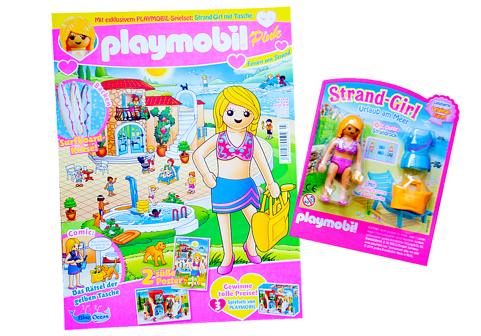 http://media.playmobil.com/i/playmobil/80606_product_detail/PLAYMOBIL-Magazin Pink 3/2018 (Heft 35)