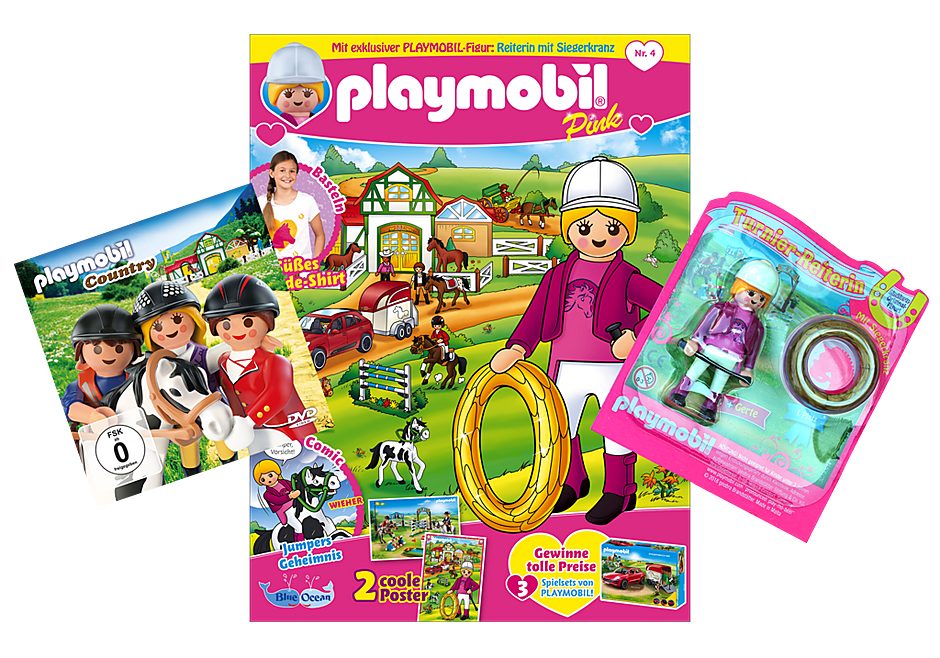 http://media.playmobil.com/i/playmobil/80608_product_detail/PLAYMOBIL-Magazin Pink 4/2018 (Heft 36)