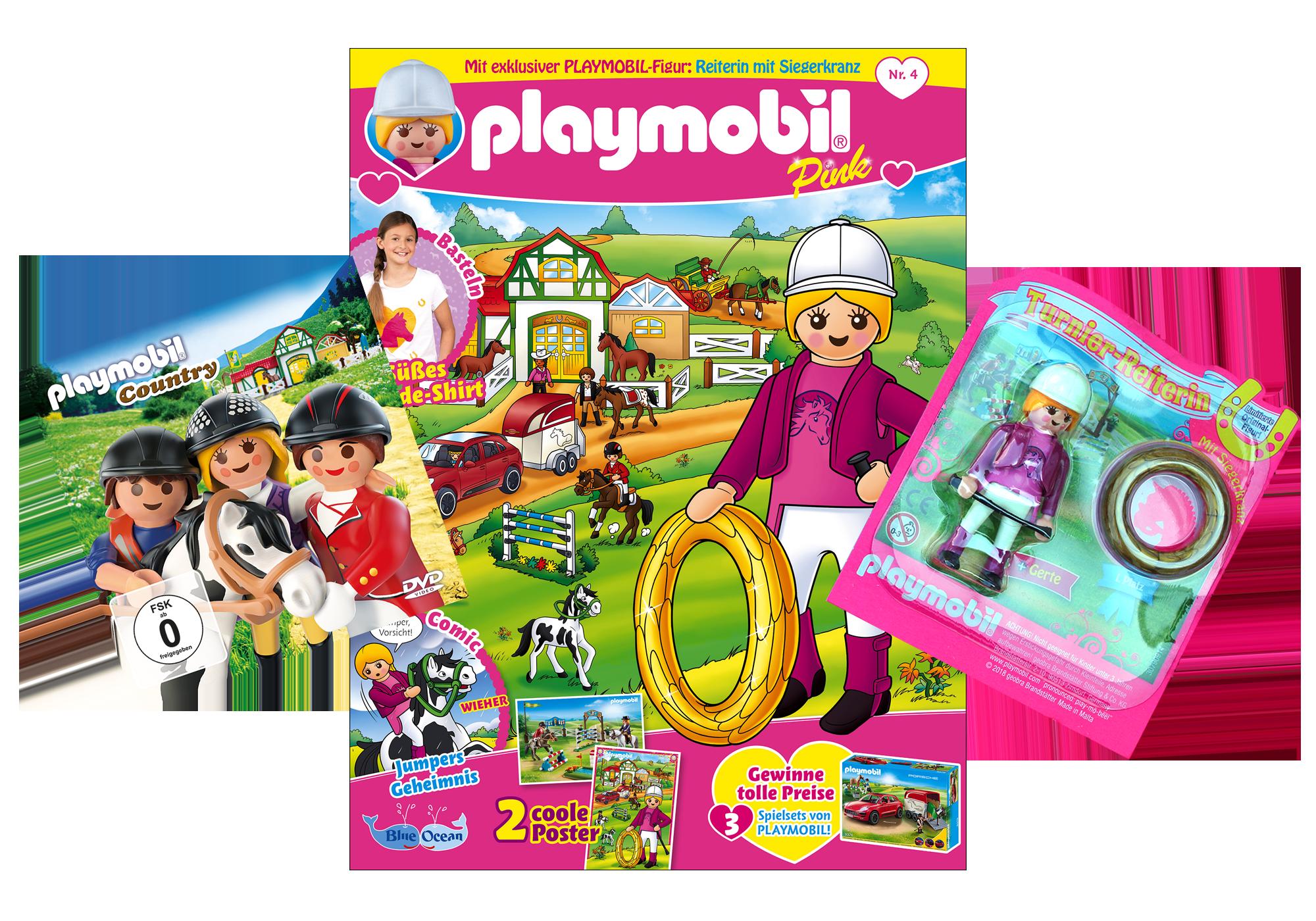 http://media.playmobil.com/i/playmobil/80608_product_detail/PLAYMOBIL-Magazin Pink 4/2018 (Heft 36)