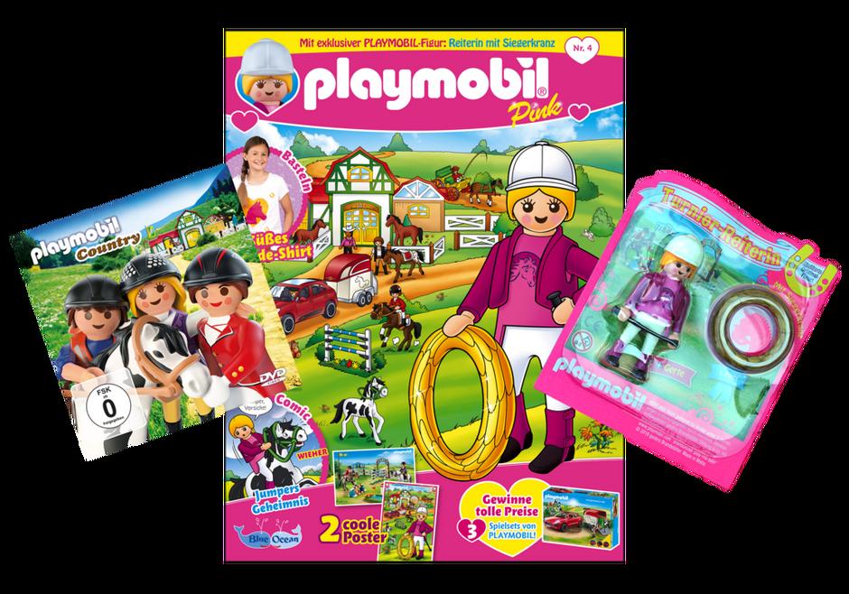 playmobil magazin pink 4 2018 heft 36