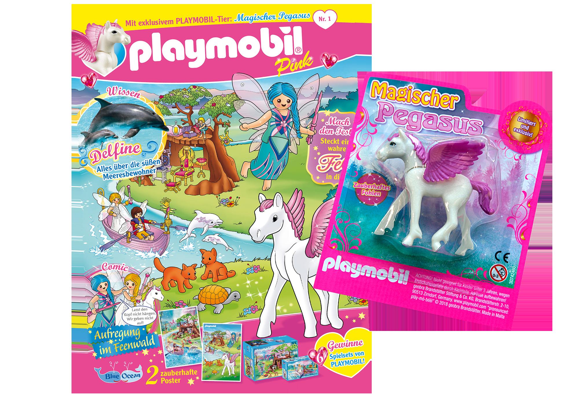 http://media.playmobil.com/i/playmobil/80619_product_detail/PLAYMOBIL-Magazin Pink 1/2019 (Heft 41)
