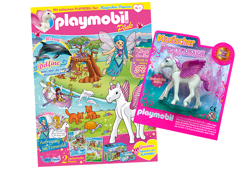http://media.playmobil.com/i/playmobil/80619_product_detail/PLAYMOBIL-Magazin Pink 1/2019 (Heft 41)