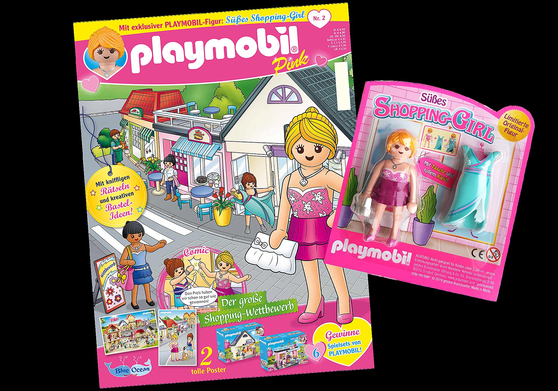 80621 PLAYMOBIL-Magazin Pink 2/2019 (Heft 42) zoom image1