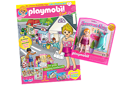 80621 PLAYMOBIL-Magazin Pink 2/2019 (Heft 42)