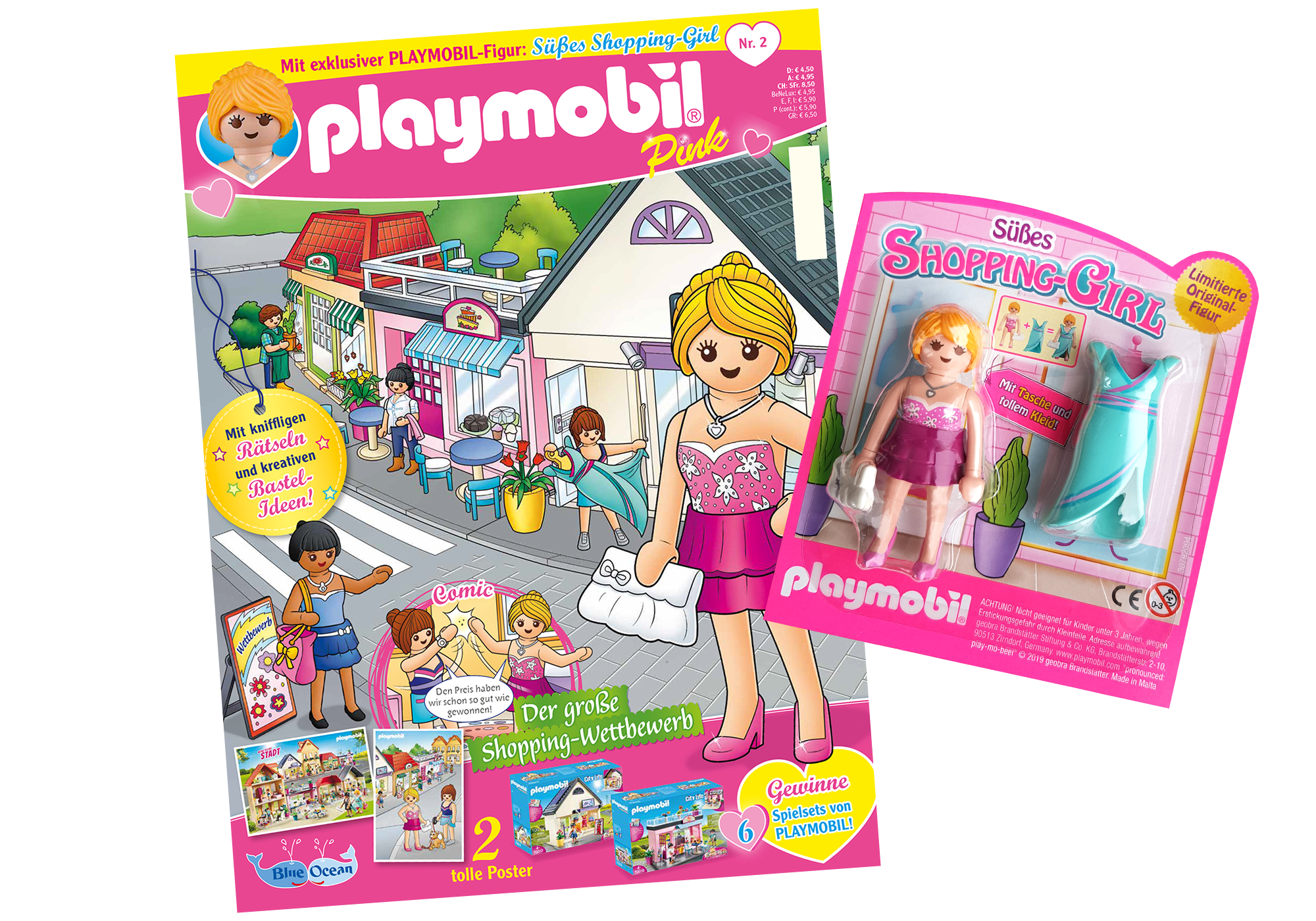 http://media.playmobil.com/i/playmobil/80621_product_detail/PLAYMOBIL-Magazin Pink 2/2019 (Heft 42)