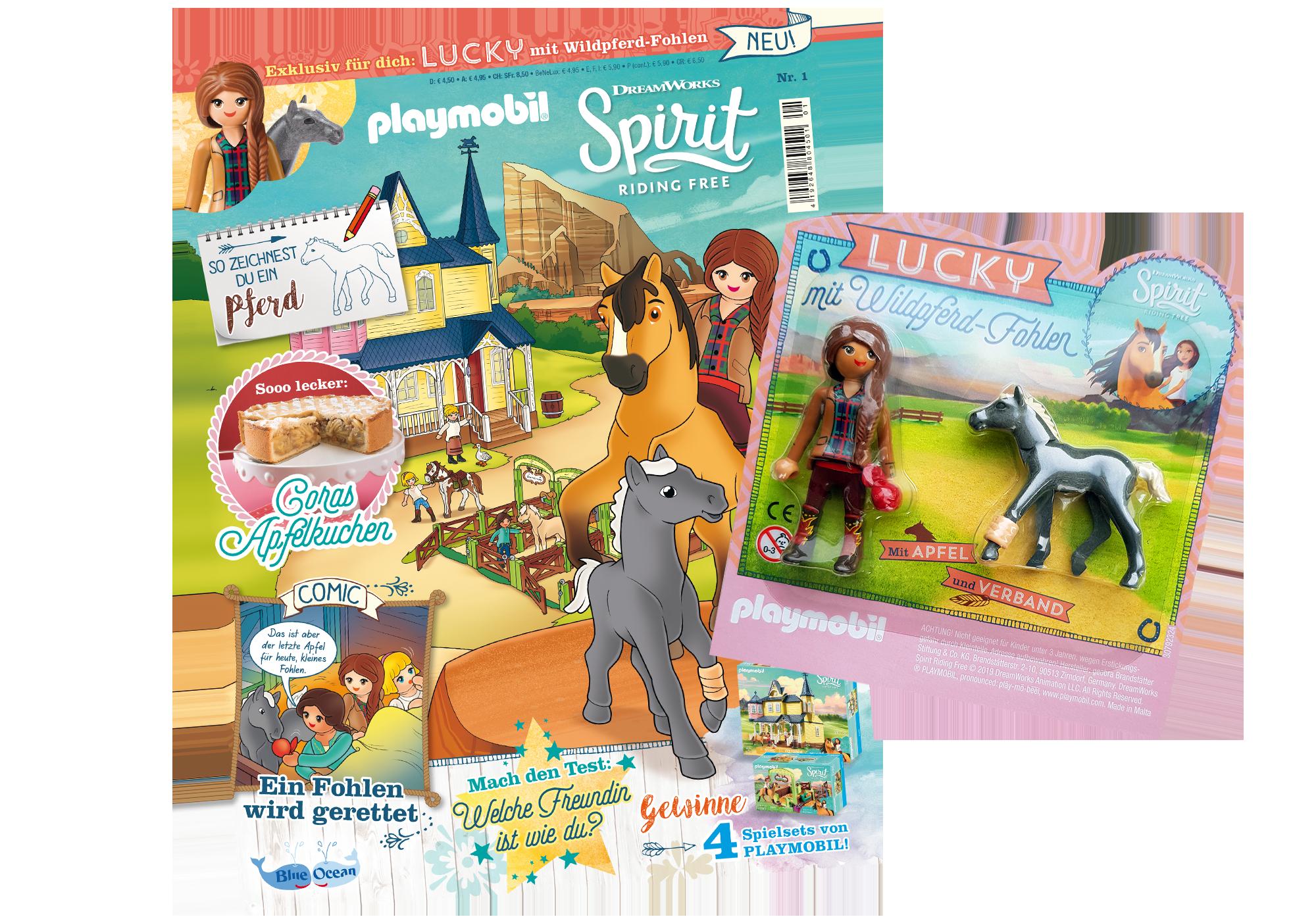 http://media.playmobil.com/i/playmobil/80622_product_detail/PLAYMOBIL-Magazin Sonderausgabe Spirit 1/2019
