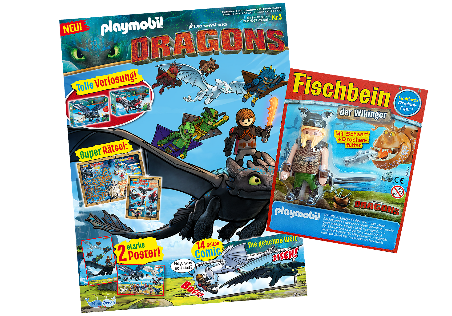 http://media.playmobil.com/i/playmobil/80623_product_detail/PLAYMOBIL-Magazin Sonderausgabe Dragons 2019