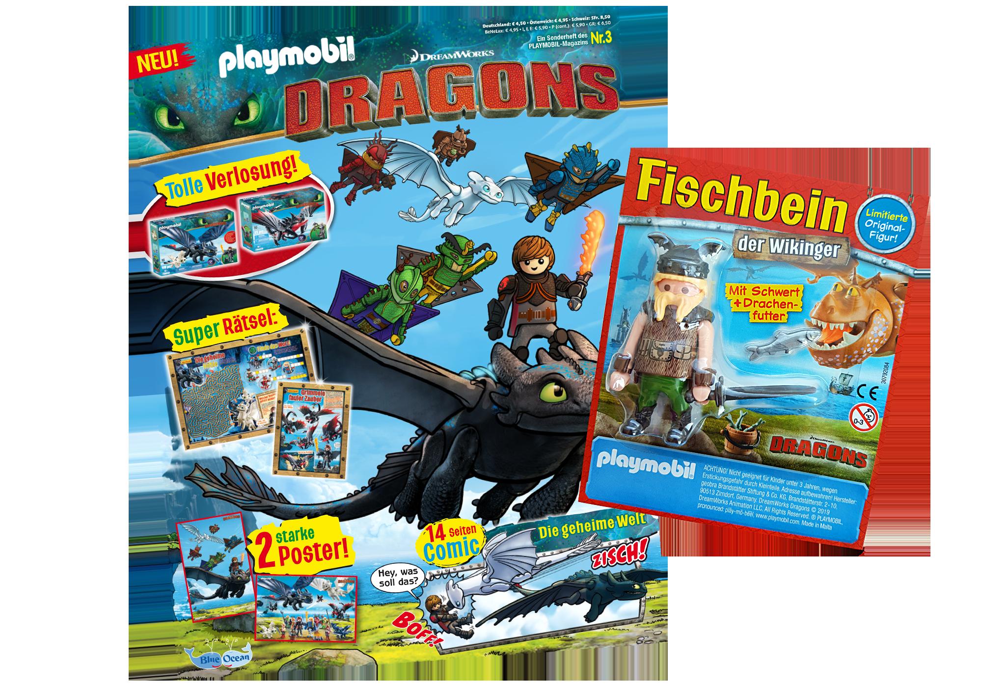 80623_product_detail/PLAYMOBIL-Magazin Sonderausgabe Dragons 2019