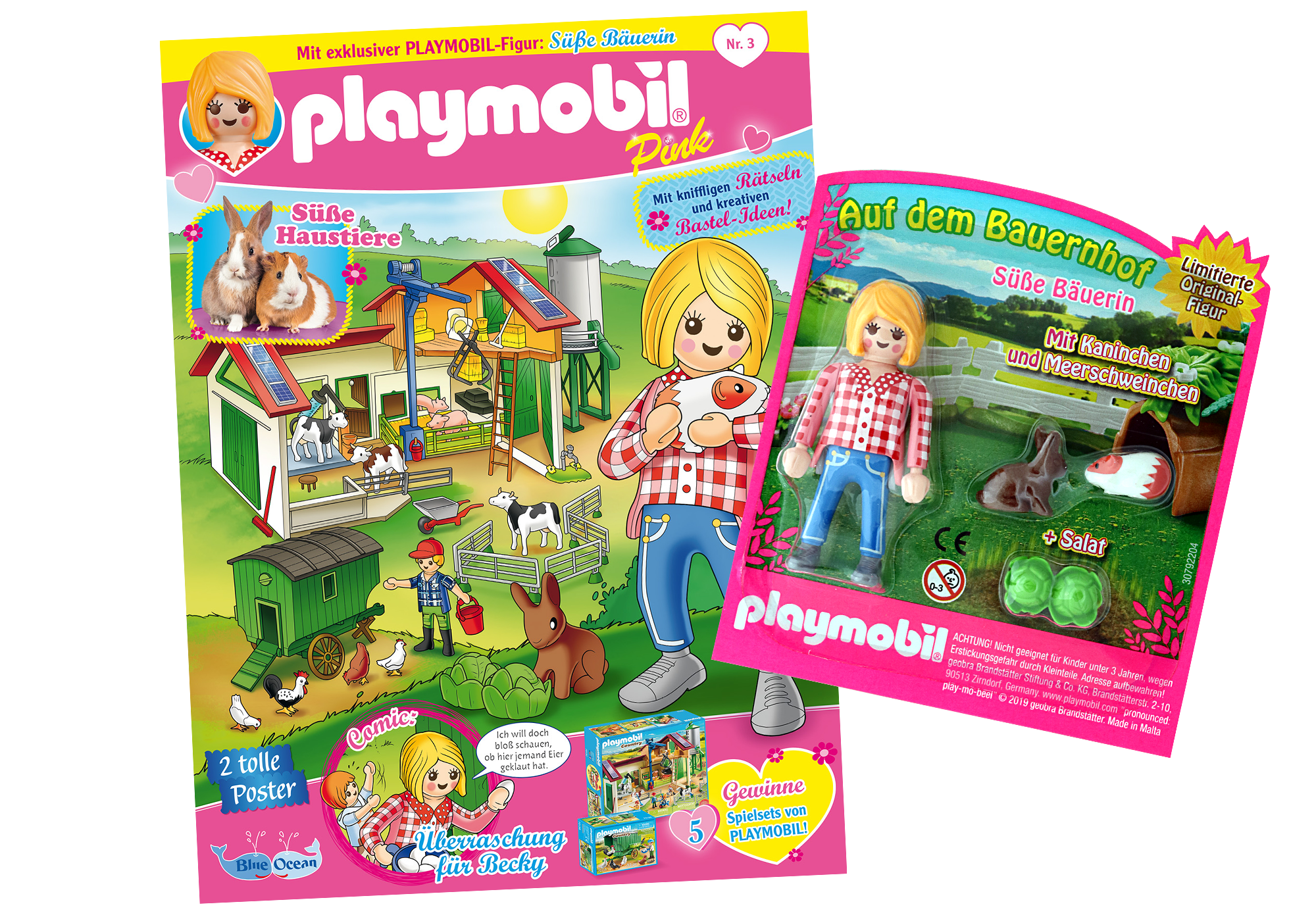 80625_product_detail/PLAYMOBIL-Magazin Pink 3/2019 (Heft 43)