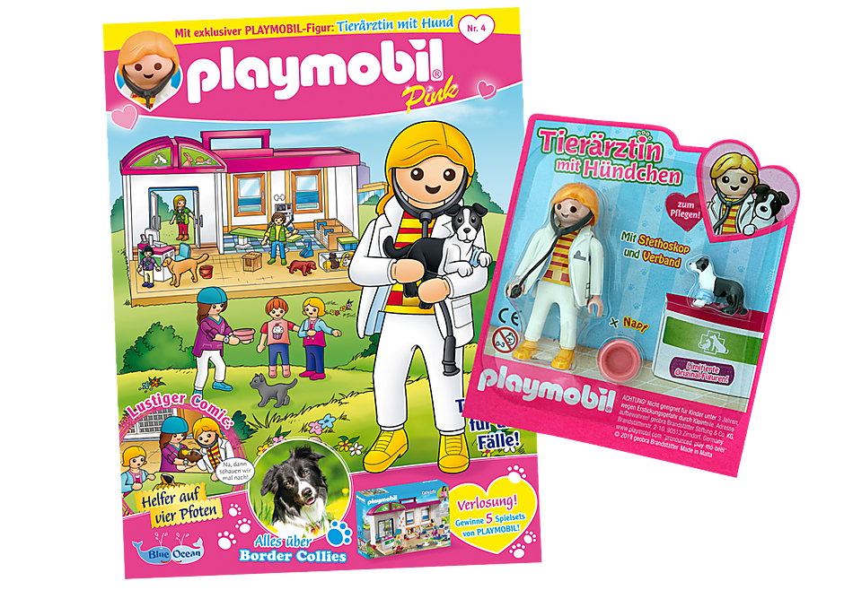 http://media.playmobil.com/i/playmobil/80627_product_detail/PLAYMOBIL-Magazin Pink 4/2019 (Heft 44)