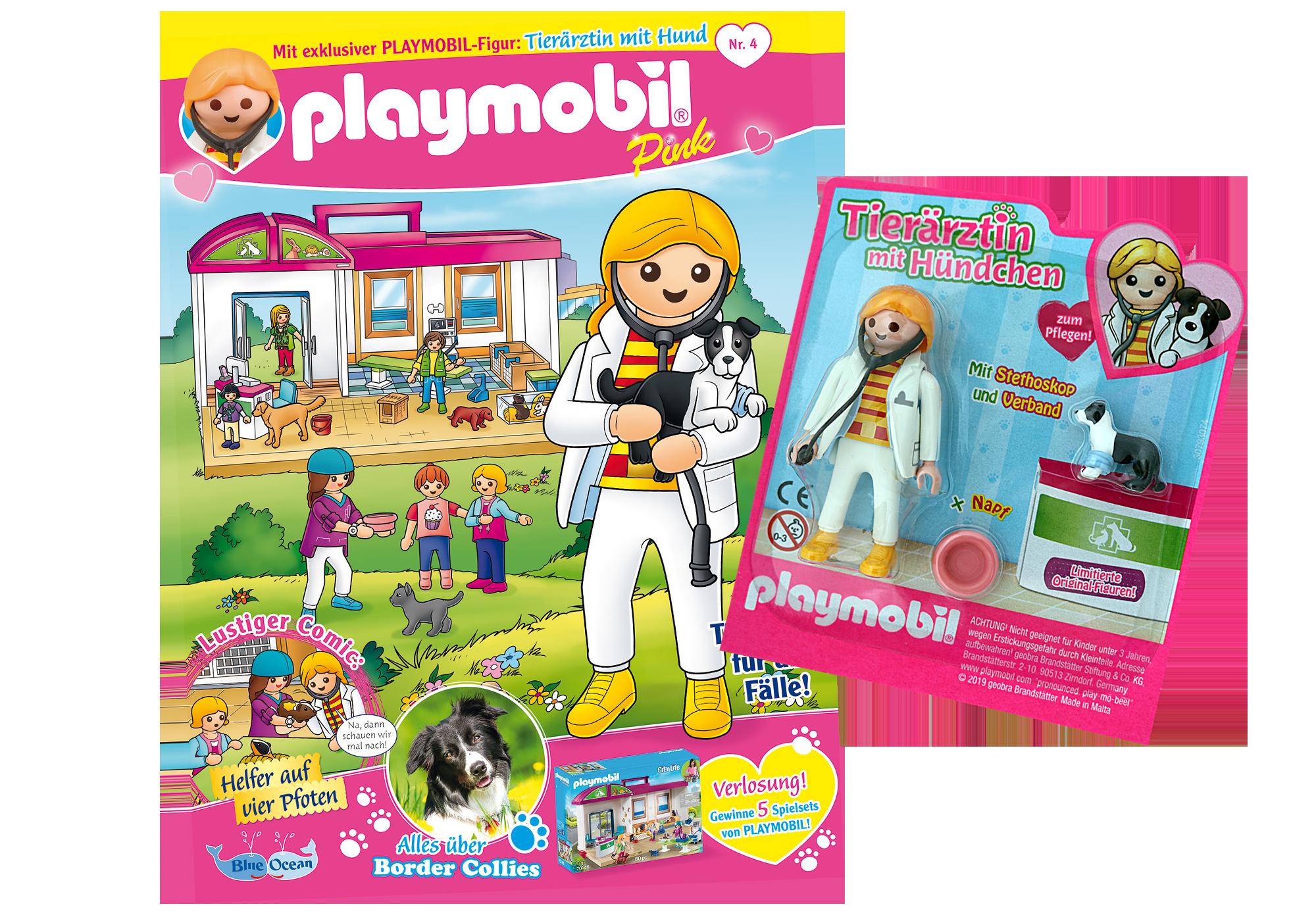 http://media.playmobil.com/i/playmobil/80627_product_detail/PLAYMOBIL-Magazin Pink 4/2019 (Heft 44)