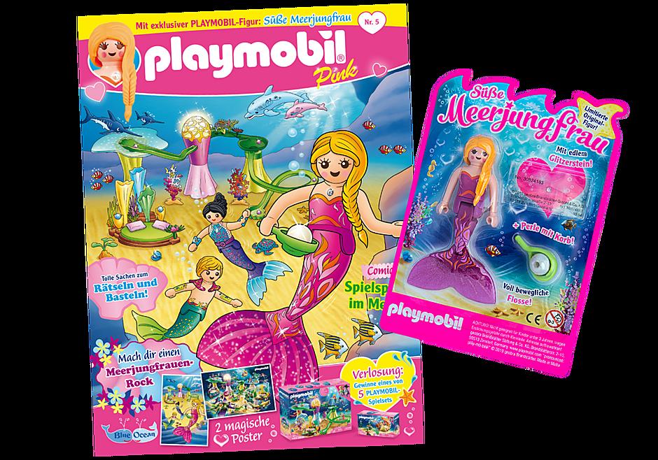 http://media.playmobil.com/i/playmobil/80630_product_detail/PLAYMOBIL-Magazin Pink 5/2019 (Heft 45)