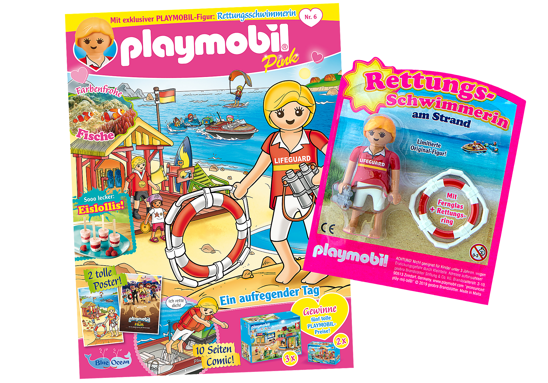 http://media.playmobil.com/i/playmobil/80632_product_detail/PLAYMOBIL-Magazin Pink 6/2019 (Heft 46)