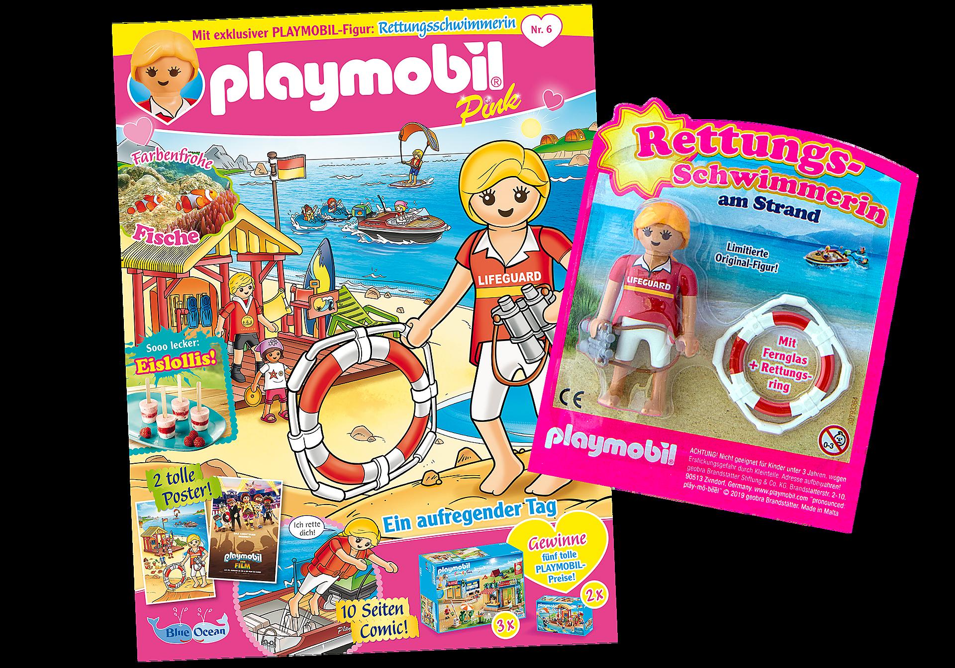 80632 PLAYMOBIL-Magazin Pink 6/2019 (Heft 46) zoom image1