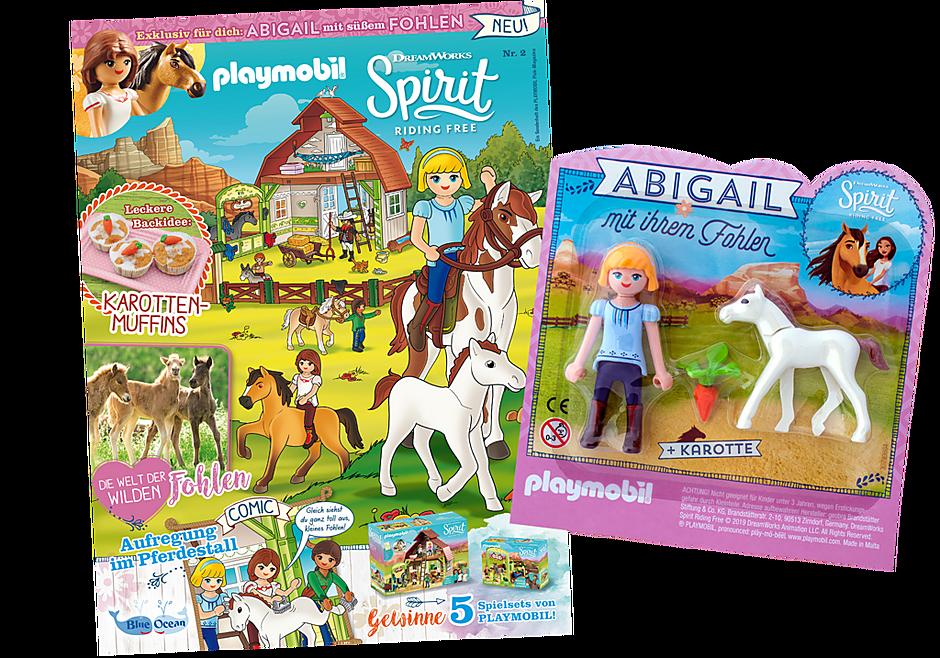 http://media.playmobil.com/i/playmobil/80636_product_detail/PLAYMOBIL-Magazin Sonderausgabe Spirit 2/2019