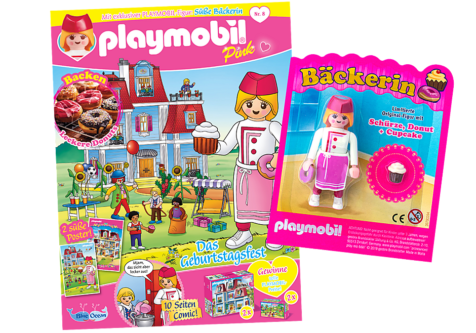 http://media.playmobil.com/i/playmobil/80637_product_detail/PLAYMOBIL-Magazin Pink 8/2019 (Heft 48)