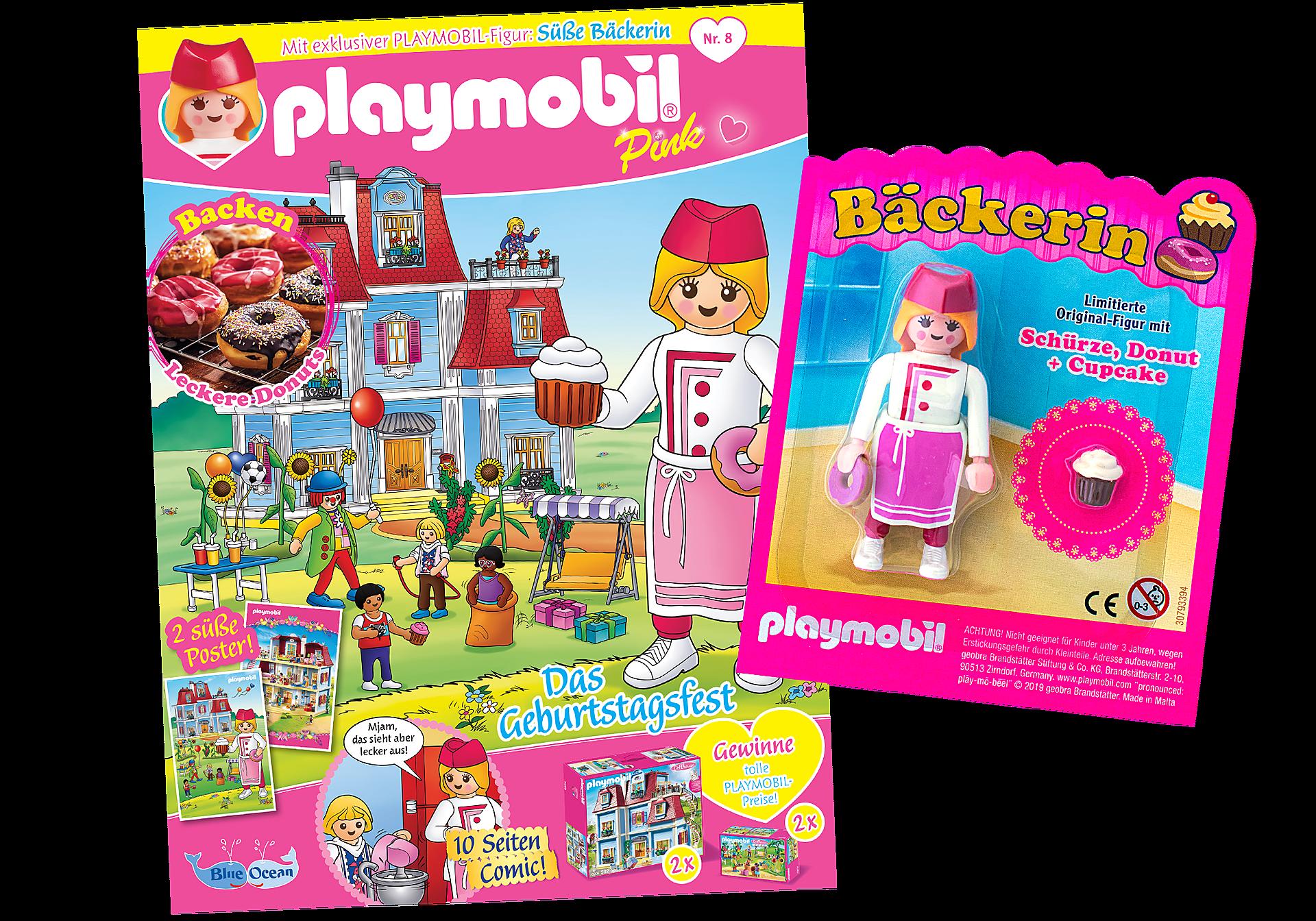 80637 PLAYMOBIL-Magazin Pink 8/2019 (Heft 48) zoom image1