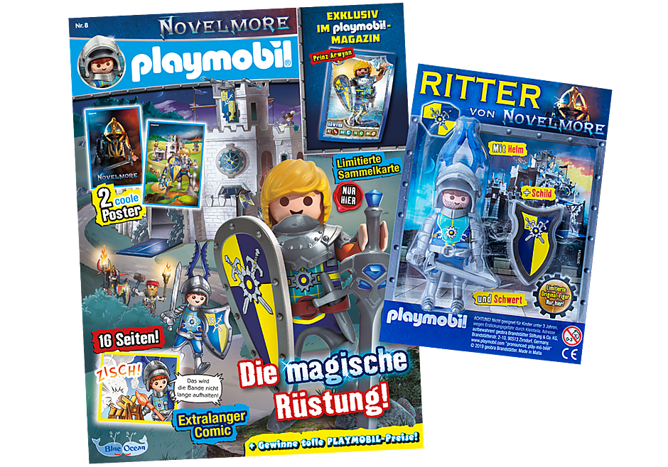http://media.playmobil.com/i/playmobil/80638_product_detail/PLAYMOBIL-Magazin Blau 8/2019 (Heft 74)