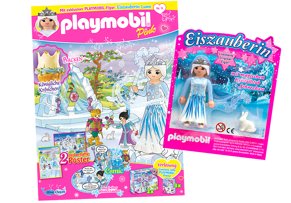 http://media.playmobil.com/i/playmobil/80639_product_detail/PLAYMOBIL-Magazin Pink 9/2019 (Heft 49)