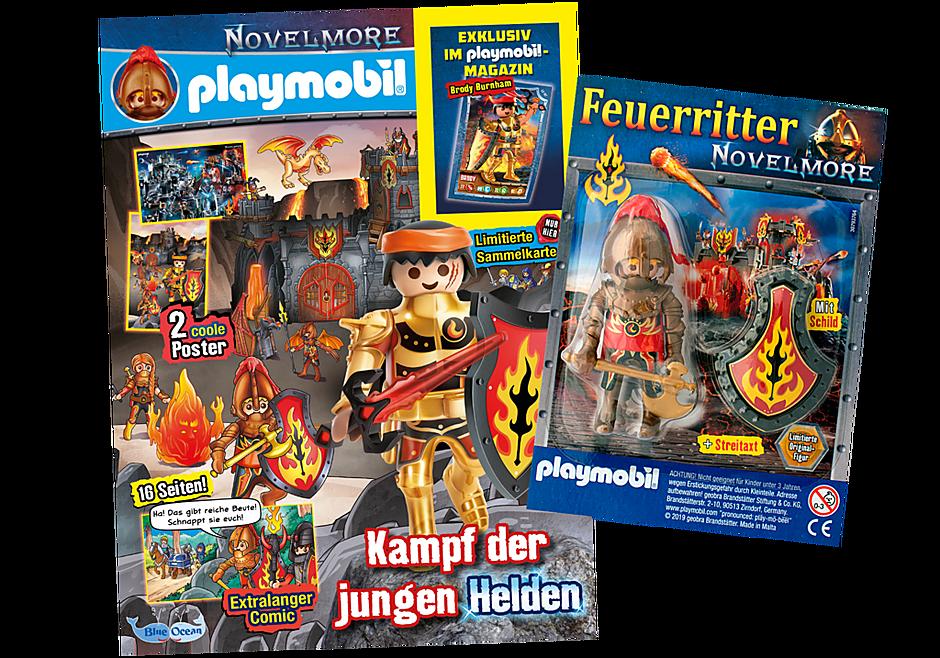 80640 PLAYMOBIL-Magazin Blau 9/2019 (Heft 75) detail image 1