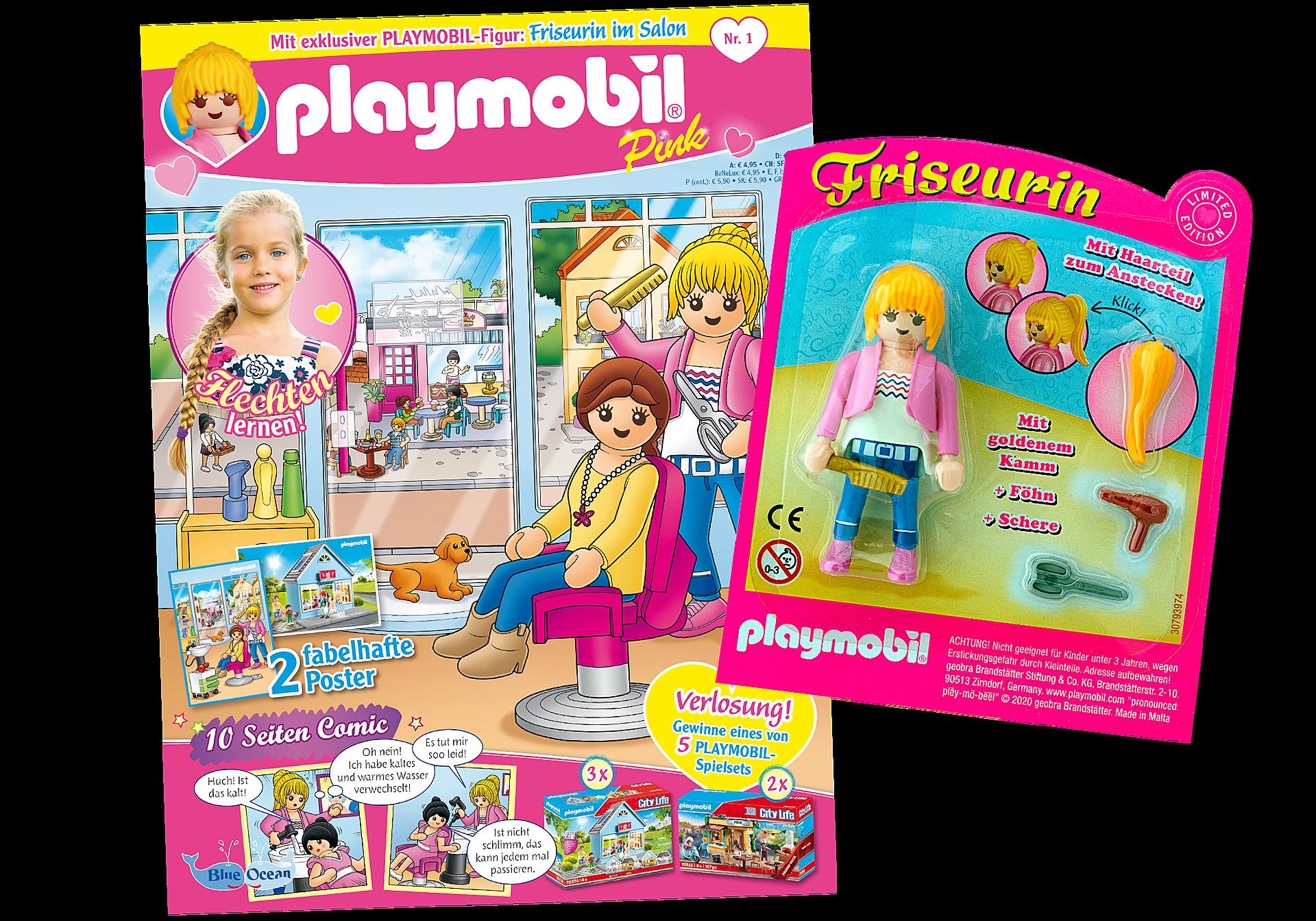80642 PLAYMOBIL-Magazin Pink 1/2020 (Heft 50) zoom image1