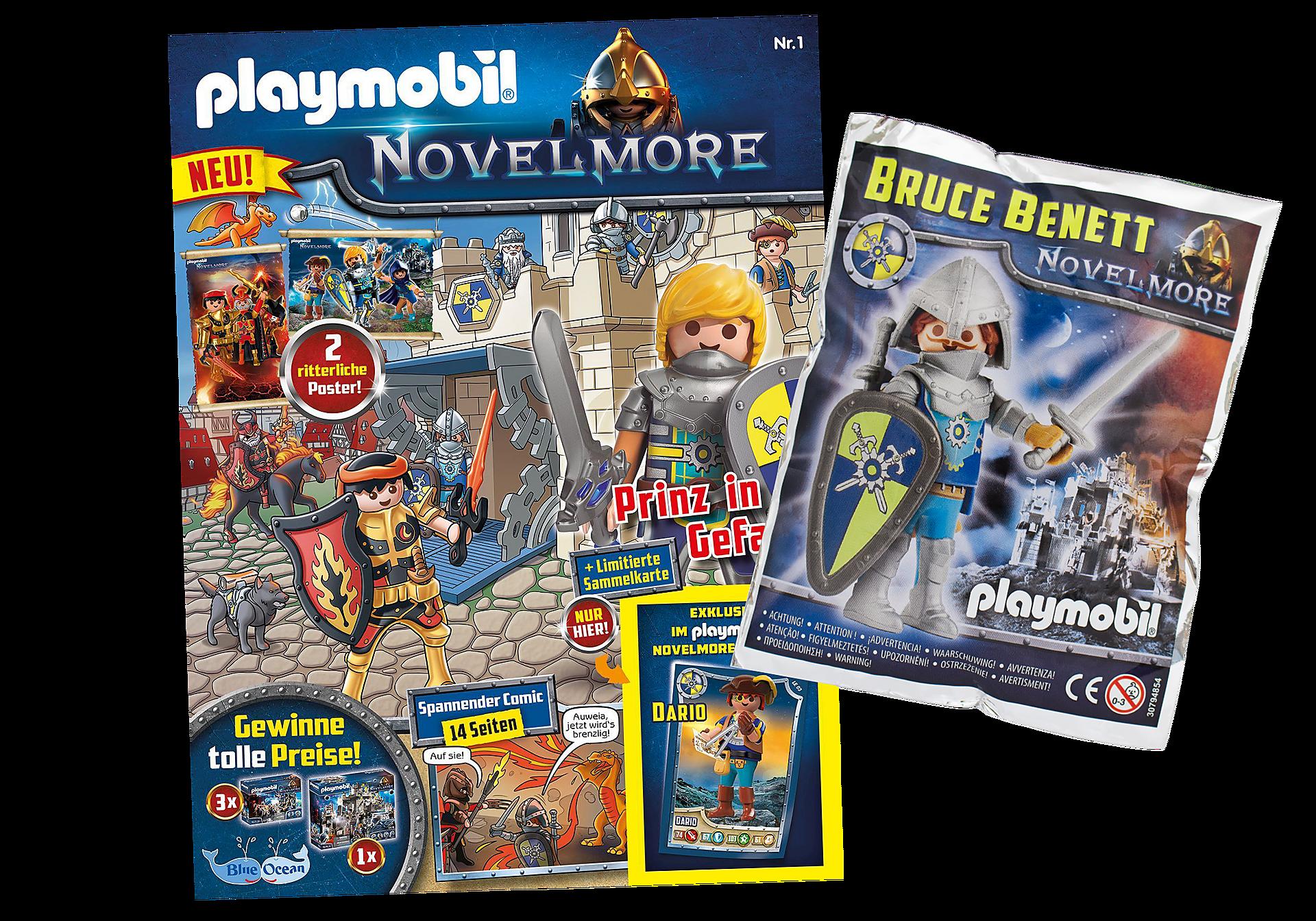 80643 PLAYMOBIL Novelmore-Magazin 1/2020 zoom image1