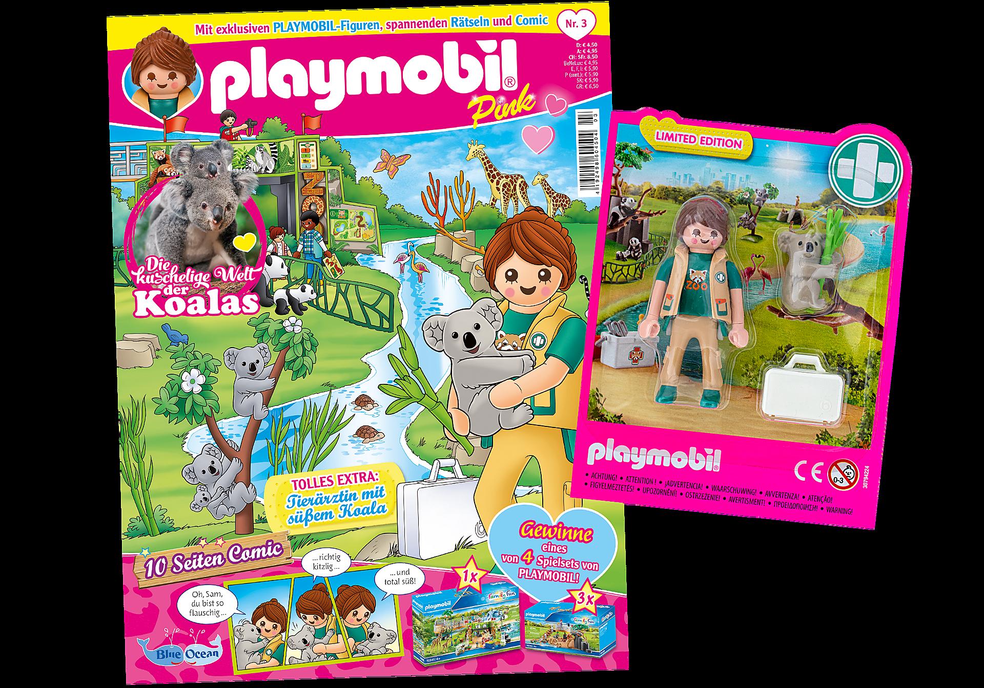 80656 PLAYMOBIL-Magazin Pink 3/2020 (Heft 52) zoom image1