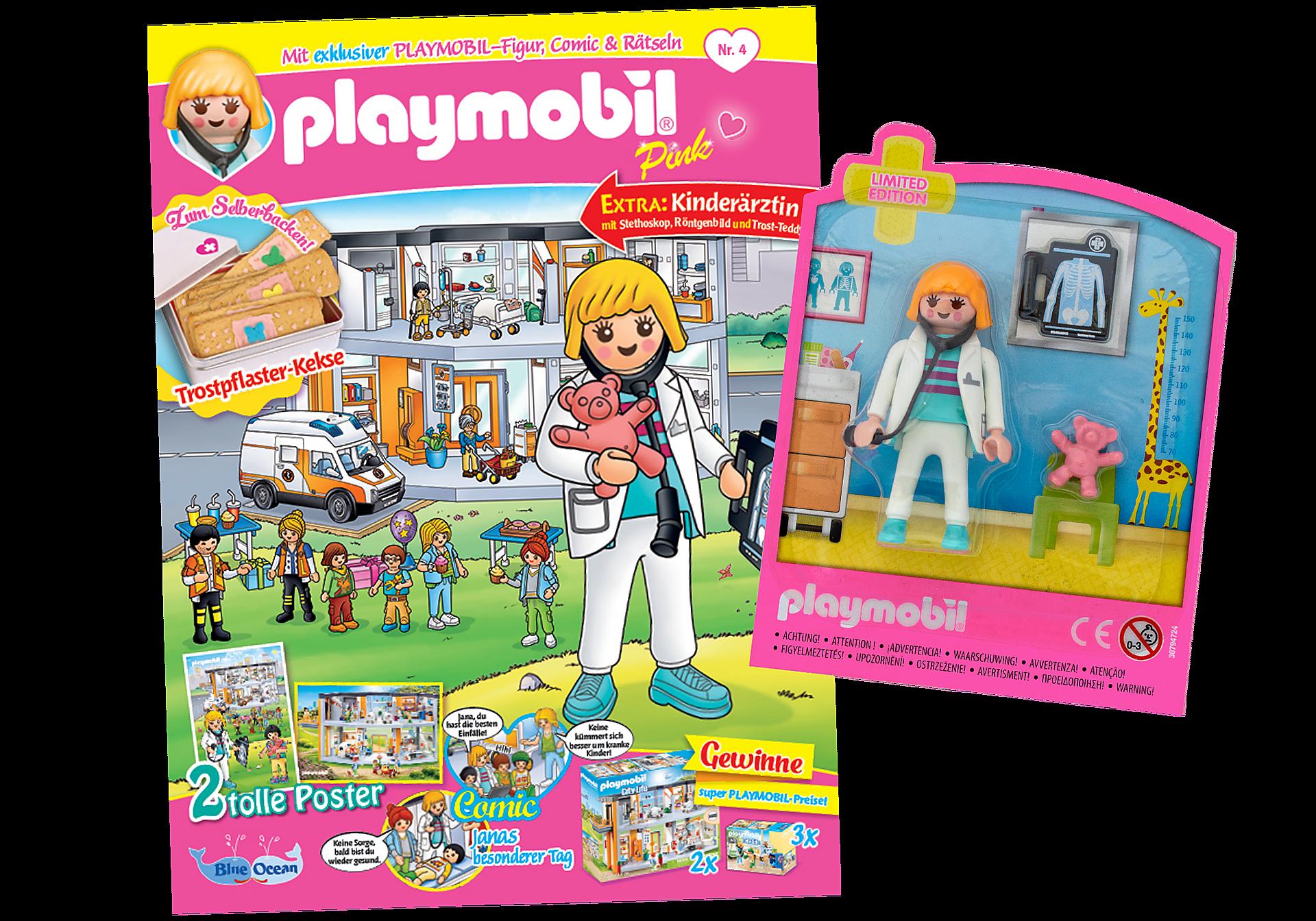 80659 PLAYMOBIL-Magazin Pink 4/2020 (Heft 53) zoom image1