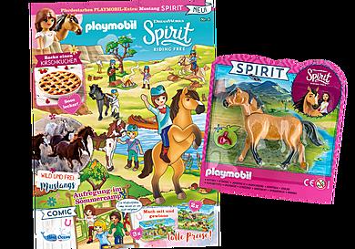 80660 PLAYMOBIL-Magazin Sonderausgabe Spirit 4/2020