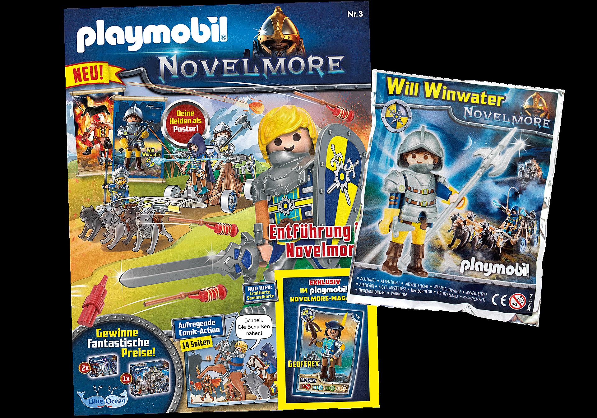 80662 PLAYMOBIL Novelmore-Magazin 3/2020 (Heft 3) zoom image1