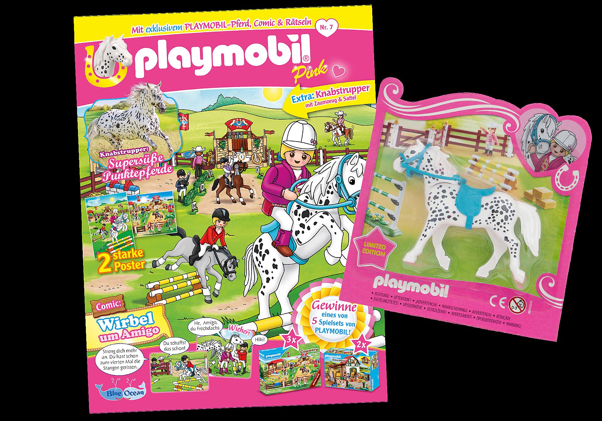 80668 PLAYMOBIL-Magazin Pink 7/2020 (Heft 56) zoom image1