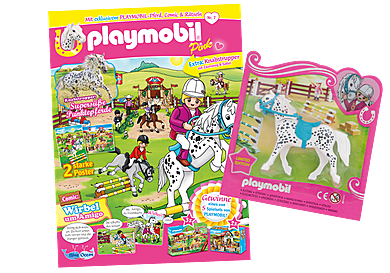 80668 PLAYMOBIL-Magazin Pink 7/2020 (Heft 56)