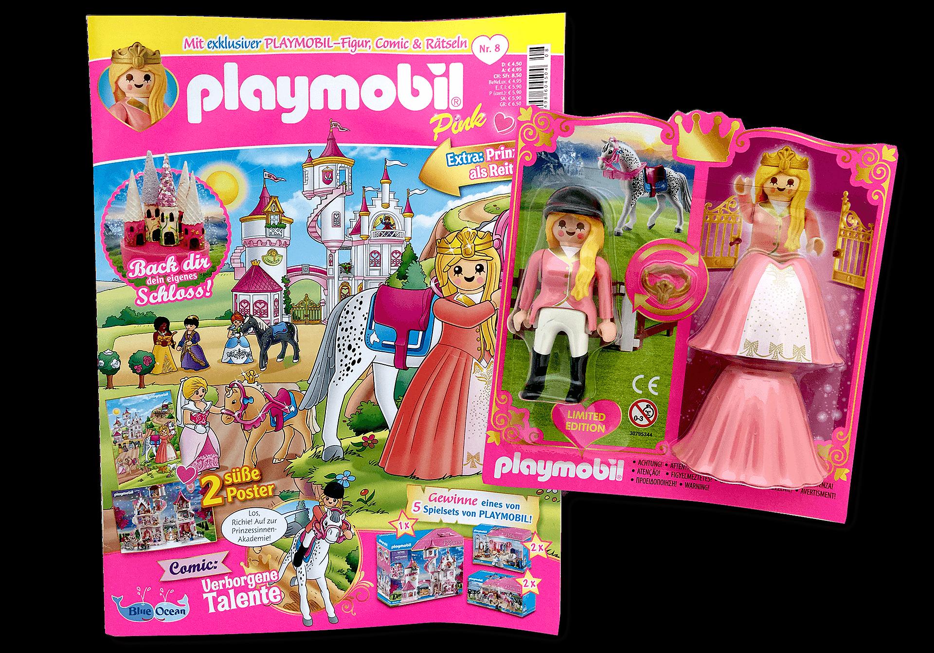80670 PLAYMOBIL-Magazin Pink 8/2020 (Heft 57) zoom image1