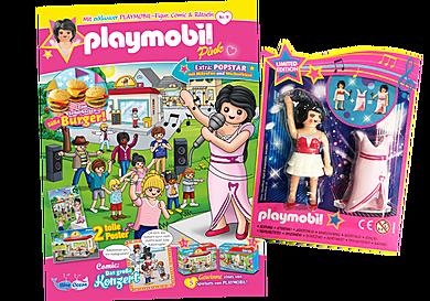 80672 PLAYMOBIL-Magazin Pink 9/2020 (Heft 58)