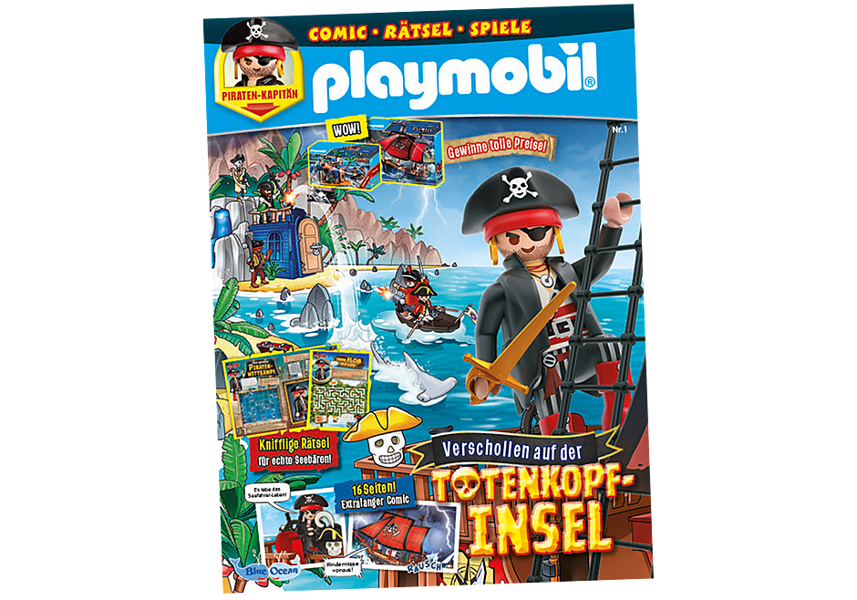 80673 PLAYMOBIL-Magazin 1/2021 (Heft 85) detail image 1