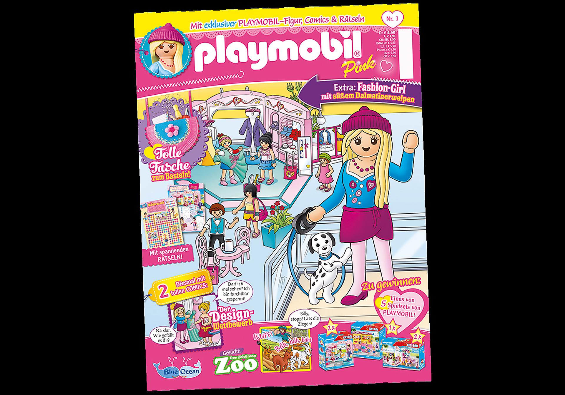 80674 PLAYMOBIL-Magazin Pink 1/2021 (Heft 59) zoom image1