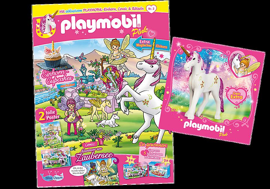 80676 PLAYMOBIL-Magazin Pink 2/2021 (Heft 60) detail image 1
