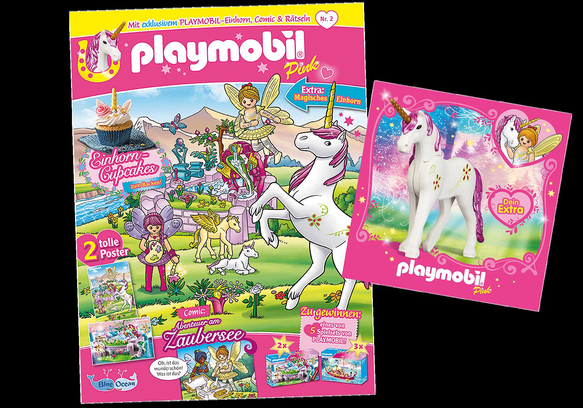 80676 PLAYMOBIL-Magazin Pink 2/2021 (Heft 60) zoom image1