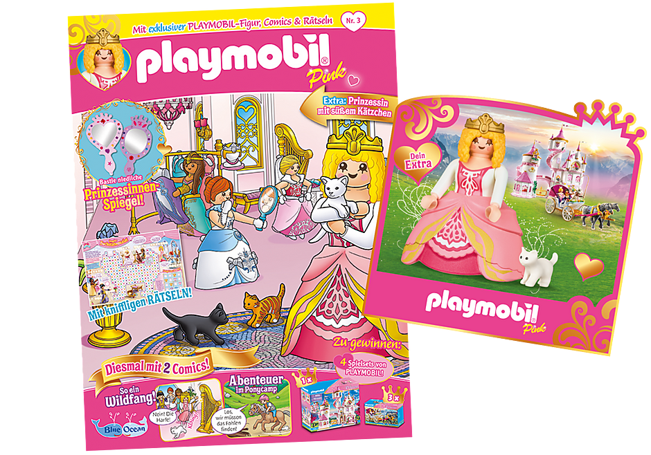 80678 PLAYMOBIL-Magazin Pink 3/2021 (Heft 61) detail image 1